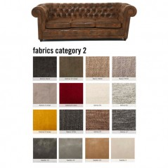 Sofa Oxford 3-Seater Individual Fabric 2