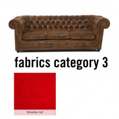 Sofa Oxford 3-Seater Individual Fabric 3