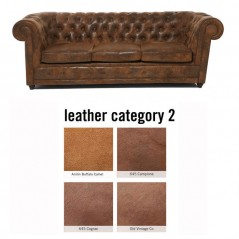 Sofa Oxford 3-Seater Individual Leather 2