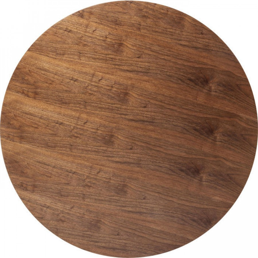 Table top invitation round walnut 120cm stopboris Image collections