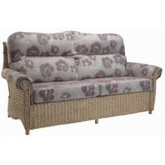 DE Wolrah 3 Seater Sofa + Cushion