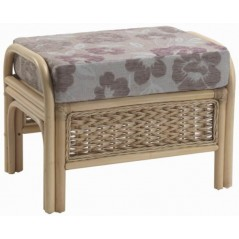 DE Wolrah Footstool + Cushion