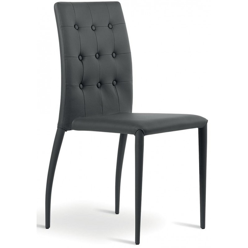 NATISA Alba Italy Dining Chair Anthracite