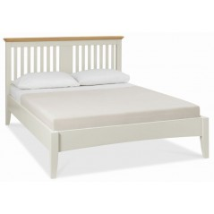 BD Ruthland Soft-Grey-and-Oak-Bedstead