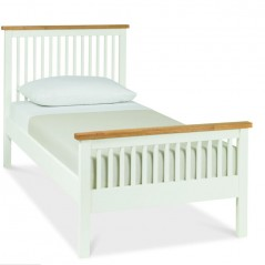 BD Harper Bed & Oak Off White