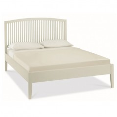 BD Alisa framed Bed stone white
