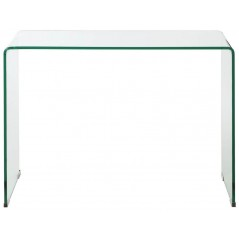 Bent Glass Console Table 2 P