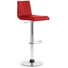 NAT Bingo Italy Bar Stool Red