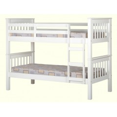 Ws 3ft Bunk Bed White