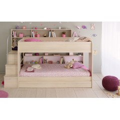 Bibop Bunk Beds Light Acacia