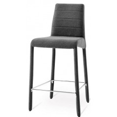 Nat Calla Italy Bar Stool Grey