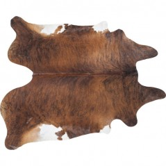 Cow Hide Rug Brown-Black 190 x 150