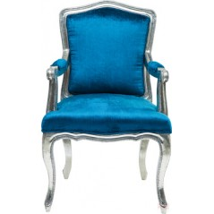 Regency Blue Arm-Chair