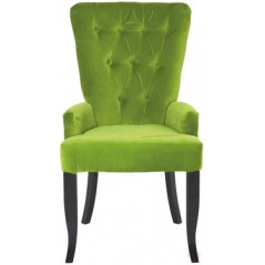 Elegance Barock Green Dining Chair