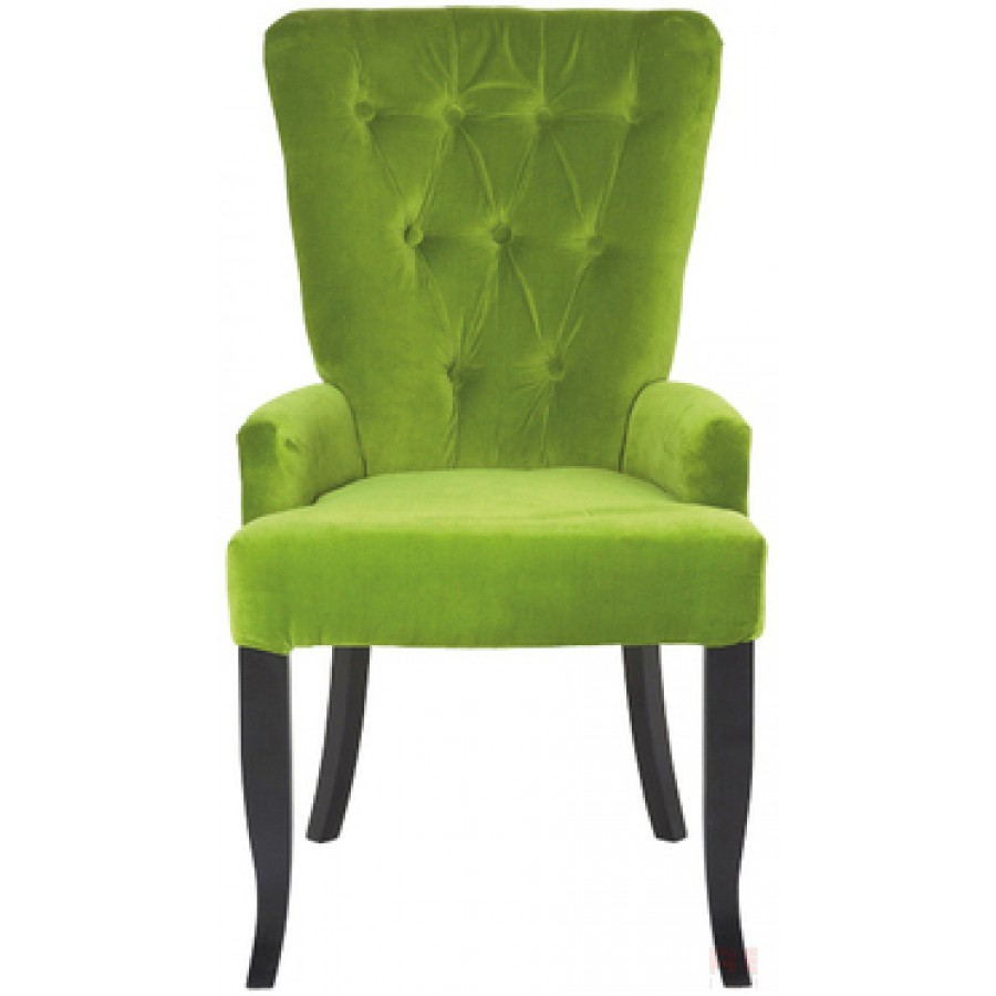Green Dining Room Chairs: Elegance Barock Green Dining Chair