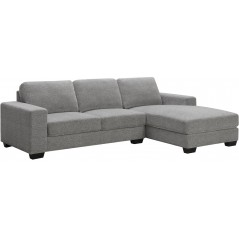 BA Withney Grey Corner Sofa