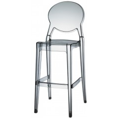 SC IGLOO STOOL Ghost Transparent