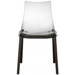 SC NATURAL ZEBRA ANTISHOCK shell chair smokey grey