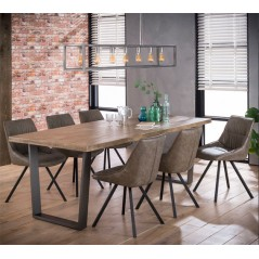 ZI Nexos Large Dining 230x95 Solid Wood