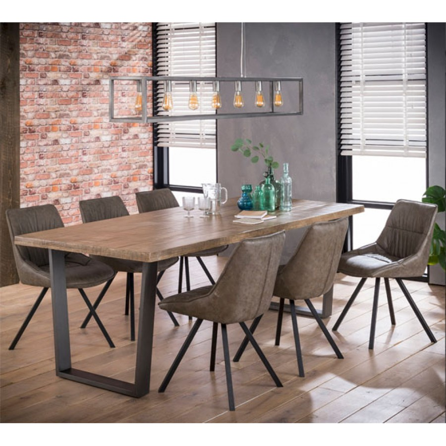Wide Dining Room Tables: ZI Nexos Large Dining 230x95 Solid Wood