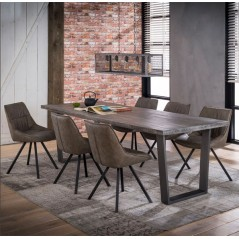 ZI Nura Large Dining Table 230x95 Solid Wood