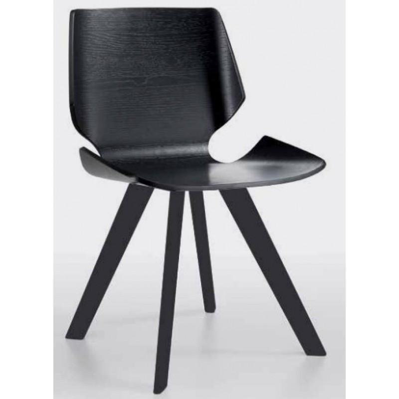 Nat LINZ Black Dining Chair