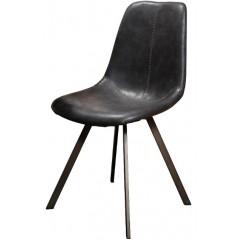 ZI Serant Chair zig-zag Black