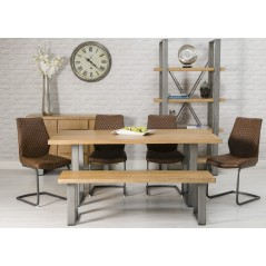 FP-Loft 1600 Oak Dining Table