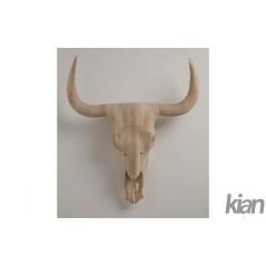 Deco Antler Wood Cow