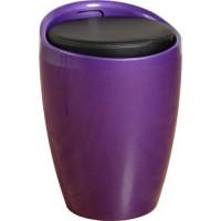 Wizard Storage Stool Purple