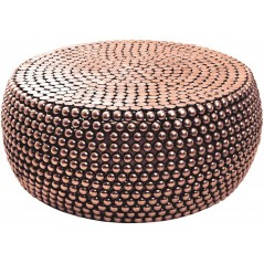 Round Gold Templar Coffee Table