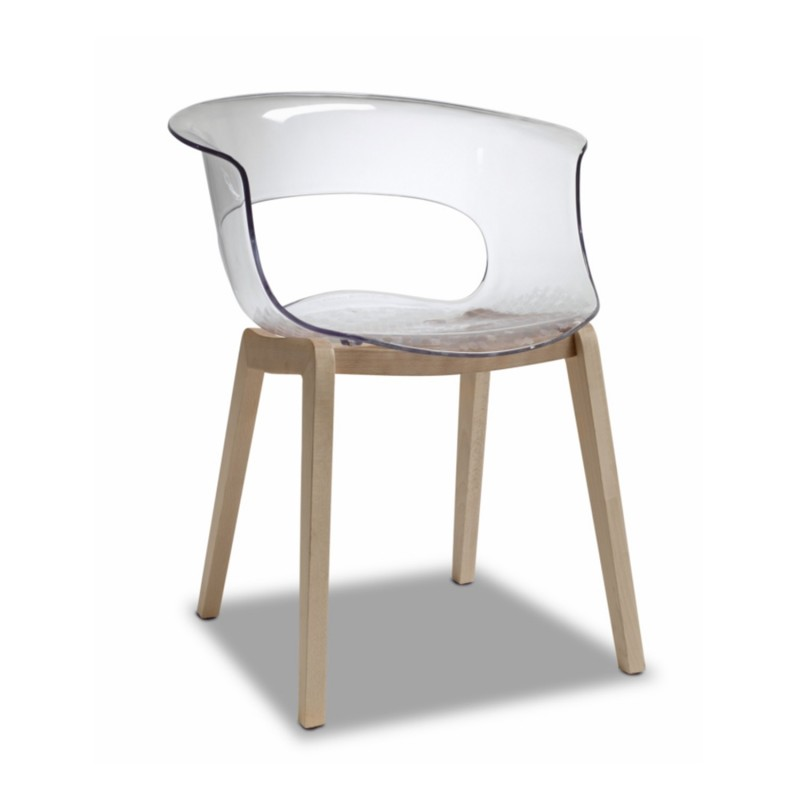 SC Natura Miss B chair Transparent