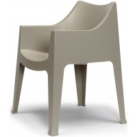 SC Coccolona chair Italy Outdoor Anthracite Grey