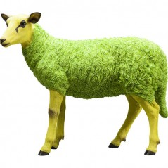 Deco Figurine Sheep Colore Green