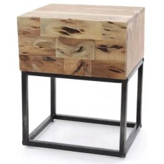 ZI Miller 1 Drawer Bed Side Table
