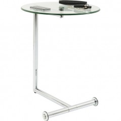 Side Table Easy Living Clear Ø46cm