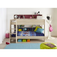 Tam Tam Bunk Bed Light Acacia