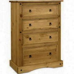 Corona 4 Drawer Chest WS