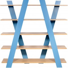 Wind X- Designer Bookcase